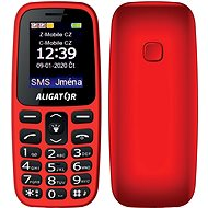 Senior Aligator A220, Red - Mobile Phone