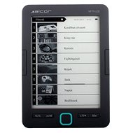 "Alcor Myth LED 6"" - Black - E-book Reader"