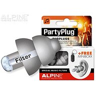 ALPINE PartyPlug Silver Gray - Accessories