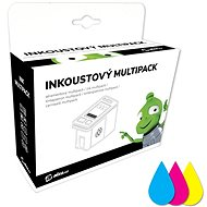 Alza No. 655 C/M/Y Colour Multipack for HP Printers - Alternative Ink