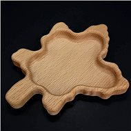 AMADEA Wooden Bowl in the Shape of a Maple Leaf, Solid Wood, Size of 20x16cm - Bowl
