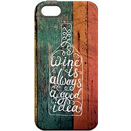 """MojePouzdro """"Good Idea"""" + Protective Glass for iPhone 6/6S - Protective case by Alza"""