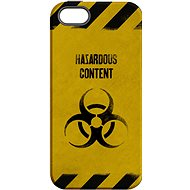"""MojePouzdro """"At Your Own Risk"""" + Protective Glass for iPhone 6/6S - Protective case by Alza"""
