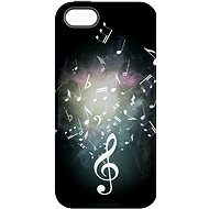 """MyCase """"Sheet Music"""" + protective glass for iPhone 6/6S - Protective case by Alza"""