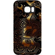 """MojePouzdro """"gold-black"""" + protective glasses for Samsung Galaxy S6 - Protective case by Alza"""