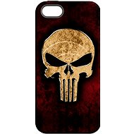 """MojePouzdro """"Skull"""" + protective glass for iPhone 5s/SE - Protective case by Alza"""