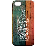 """MojePouzdro """"Good Idea"""" + protective glass for iPhone 5s/SE - Protective case by Alza"""