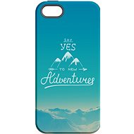 """MojePouzdro """"Adventure"""" + protective glass for iPhone 5s/SE - Protective case by Alza"""
