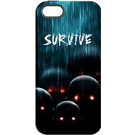 """MojePouzdro """"Zombie"""" + protective glass for iPhone 5s/SE - Protective case by Alza"""
