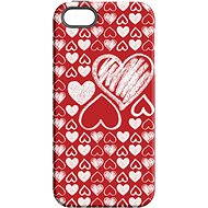 """MojePouzdro """"Love"""" + protective glass for iPhone 5s/SE - Protective case by Alza"""