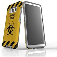 """MojePouzdro """"At your own risk"""" + Screen protector for Samsung Galaxy S8 - Protective case by Alza"""