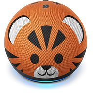 Amazon Echo Dot 4th Generation Kids Edition Tiger - Voice Assistant