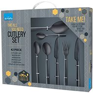 Amefa Manille 42pcs, All You Need, Black - Cutlery