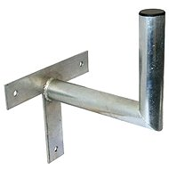Three-point galvanized bracket, 250/120/28, 25 cm from the wall