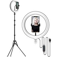 """Apexel Ring Light 10"""" with 2.1m Stand and Holder"""