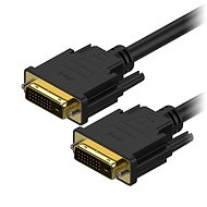Video Cable AlzaPower DVI-D to DVI-D Dual Link Interconnect 2m - Video kabel