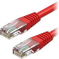 AlzaPower Patch CAT5E UTP 0.5m Red - Network Cable