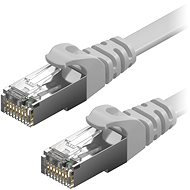 AlzaPower Patch CAT6 FTP Flat 3m Grey - Network Cable