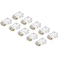 AlzaPower Patch CAT6 UTP RJ45 8p8c Unshielded Folded on the Obverse (Wire) 10-pack - Connector