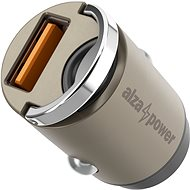 Car Charger AlzaPower Car Charger M110 Fast Charge Mini Silver