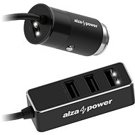 Car Charger AlzaPower Car Charger X540 Multi Charge, Black