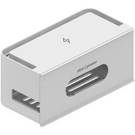 AlzaPower Cable Box Socket, Grey - Cable Organiser