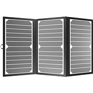 Solar Panel AlzaPower MAX-E 21W Black - Solární panel
