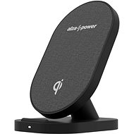 AlzaPower WC110 Wireless Fast Charger, Black - Wireless Charger