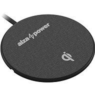 AlzaPower WC120 Wireless Fast Charger, Black - Wireless Charger