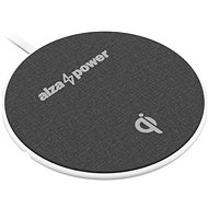 AlzaPower WC120 Wireless Fast Charger White - Wireless Charger