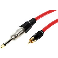 AQ Mono 6.3 mm - RCA 1m - Audio Cable