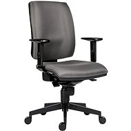 ANTARES 1380 Syn Flute SL D5, Grey + BR06 armrests - Office Chair