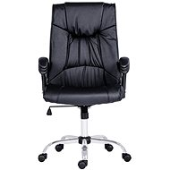ANTARES Denver black leather - Office Chair