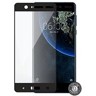 Screenshield NOKIA 5 (2017) Tempered Glass protection (full COVER black) - Glass protector