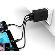 Aukey Quick Charge 3.0 3-Port Wall Charger - Charger