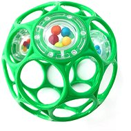 Oball RATTLE 10cm for Babies from Birth, Seafoam - Toddler Toy
