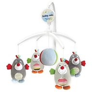 Baby Mix Plush carousel over the crib - Mole - Cot Toy