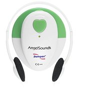 AngelSounds JPD 100S Prenatal Monitoring, White/Green - Breathing Monitor