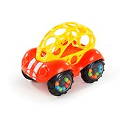 Oball Rattle & Roll, Red / Yellow, 3m+ - Toddler Toy