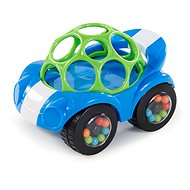Oball Rattle & Roll Blue / Green 3m+ - Toddler Toy