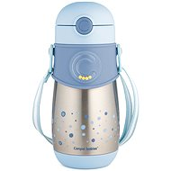 Canpol babies Thermo Bottle with Straw, 300ml, Blue - Children's thermos