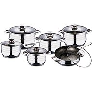 Blaumann Set of dishes Gourmet Line 12pcs BL-3167 - Pot Set