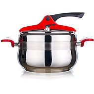 Pressure Cooker GRANDE Red 5l, Belly Shape A12973 - Pressure Cooker