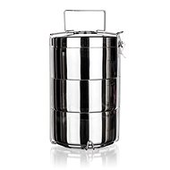 BANQUET AKCENT Stainless-steel Double-walled, 3 Parts - Snack Box