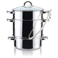 BANQUET TOWER Stainless-steel Pots 8l - Juicer Steamer