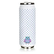 BANQUET Thermos BE COOL Owl 430ml, blue