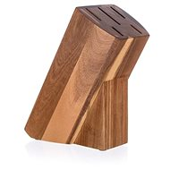 BANQUET Wooden Stand for 5 Knives BRILLANTE Acacia 23 x 11 x 10cm - Knife Block