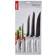 BANQUET SAPHYR Knife Set, 5pcs, Grey - Knife Set