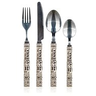BANQUET Stainless Steel-Cutlery Set With Plastic Handles CAPITAL, 24 pcs - Cutlery