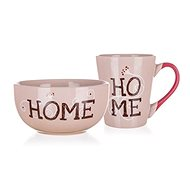 BANQUET HOME Collection Breakfast Set - Mug and Bowl, 2pcs
